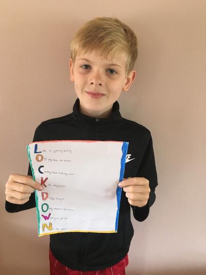 Jamie lockdown poem