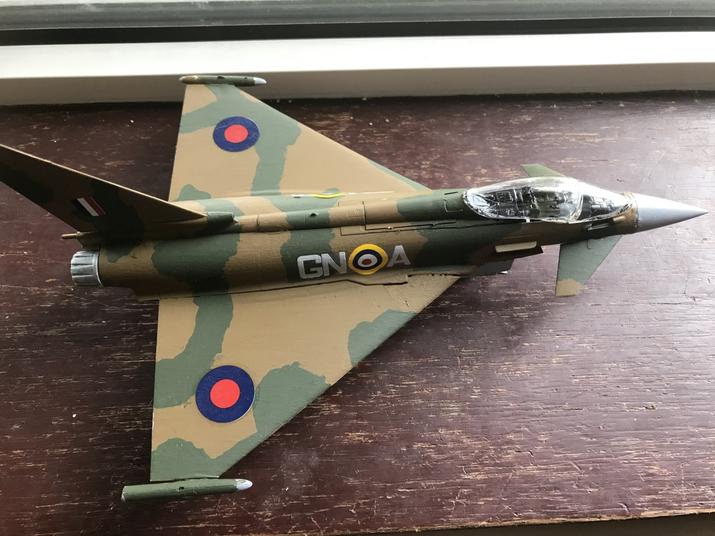 Rebecca WW2 plane