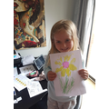 Lexie has made a beautiful sunflower