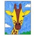 9. Colour your giraffe