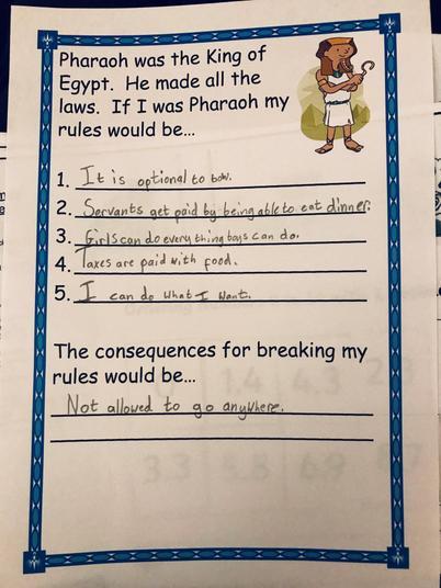 If Emily was Pharaoh