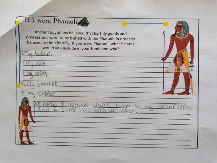 If Lara was a Pharaoh
