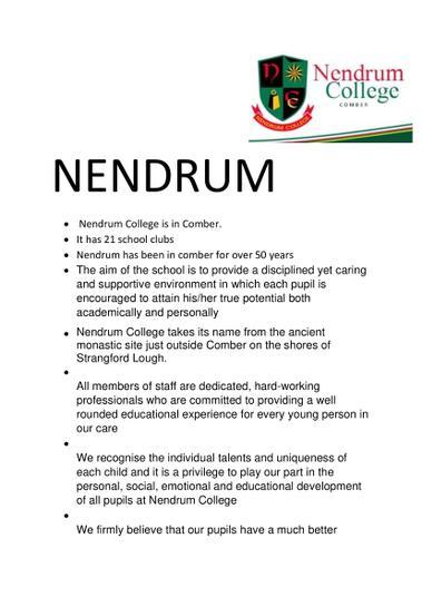 Leyla - Nendrum College