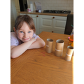Ella had a really busy week!