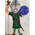 A fierce viking from Paddy
