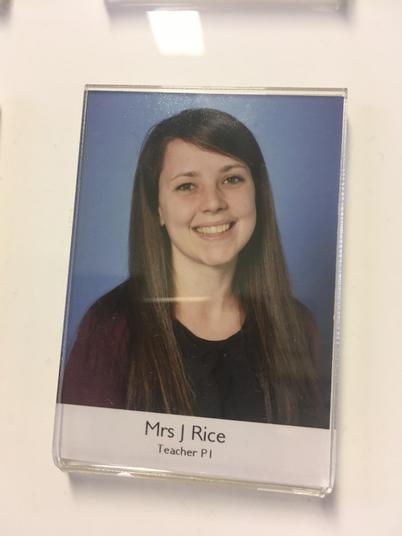 Mrs Jennifer Rice