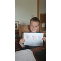 Dylan has been working hard celebrating VE Day