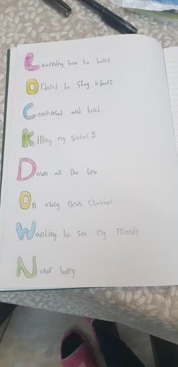 Katie lockdown poem