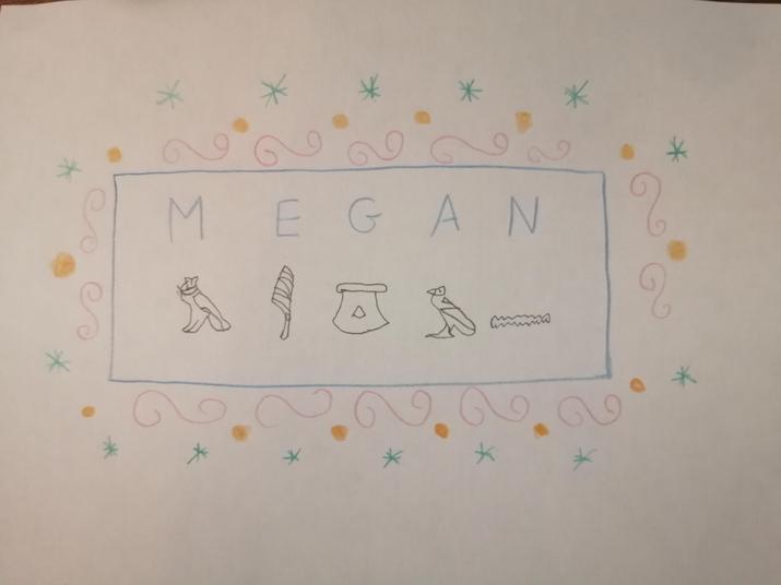 Super hieroglyphics Megan