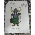 Amy's fierce Viking