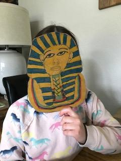 Awesome mask Holly!