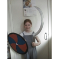 Amy, another shield maiden