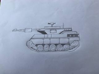 Robbie WW2 tank