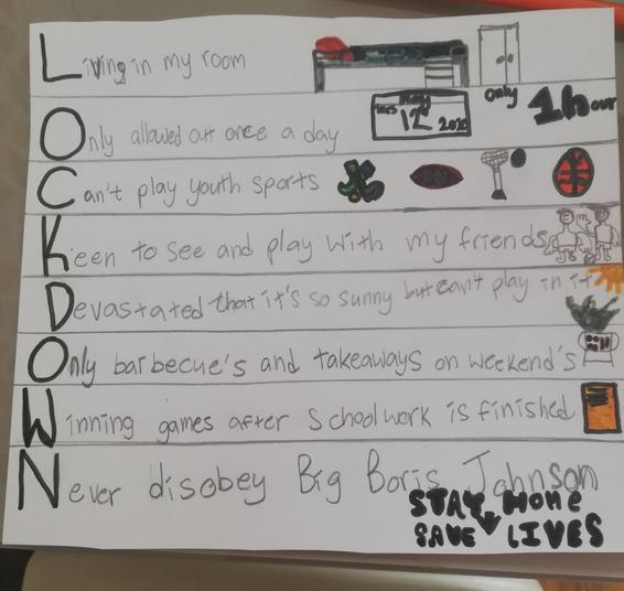 Harry's lockdown poem