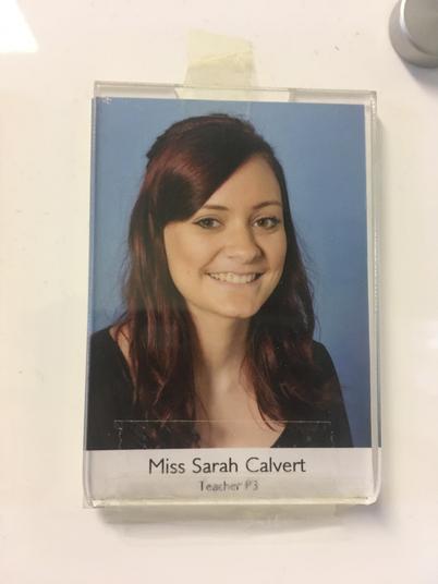 Miss Sarah Calvert
