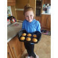 Kailee has been baking at home! Yummy!