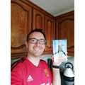 Me and my book wearing the best kit ever!!!