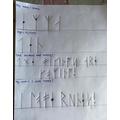 Great work on the runes Emma