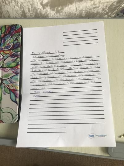 Mysha evacuee letter 2