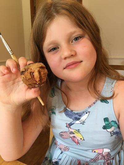 Marvellous Mummified apple Emily!