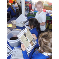 Creating our archaeological excavation pit