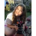 Jessica's pencil pot challenge - it looks great!