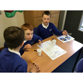 We classified objects as solids, liquids or gases.