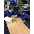 We examined the melting point of chocolate.