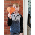 Luke's origami challenge