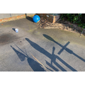 Mia and Mike's shadow challenge