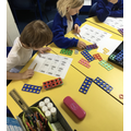 We have been exploring number with our maths resources.