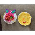 Olivia's Easter crafts