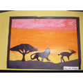 African Pictures: Miss Field's class