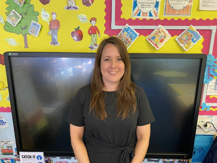 Miss McIntyre (Early Years Leader/Reception Teacher)