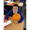 'Guess the pumpkin weight' winner!