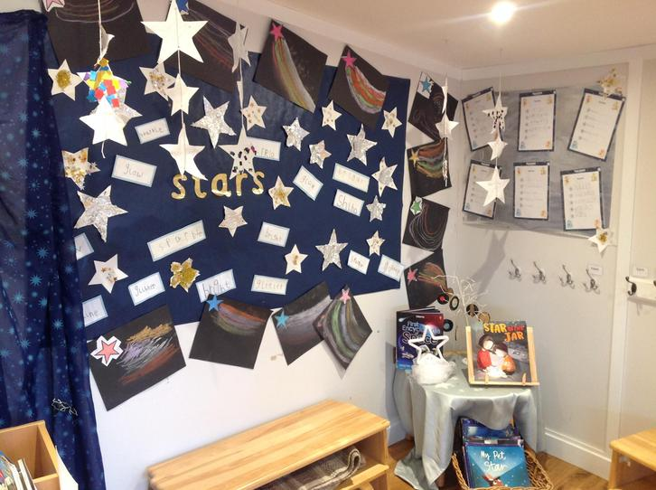 Our magical star display