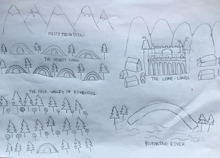 Razia's Hobbit Map (6J)