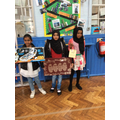 some of the year 5 raffle prize winners.