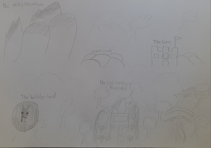 Khalisa's Hobbit Map (6J)