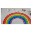 Ibrahims's lovely rainbow.  2R
