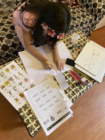 Zoya's super reading skills.