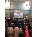 slide show of what year 5 did over the month.