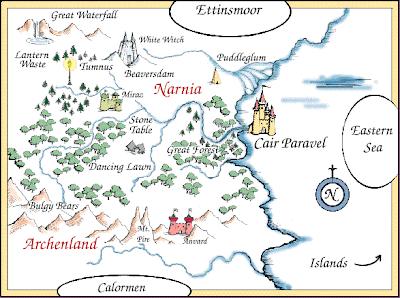 Narnia Visual Map