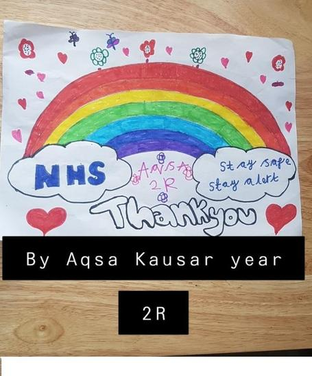 A lovely drawing from Aqsa