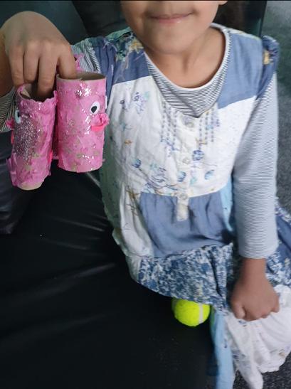 Haleema's super art skills!