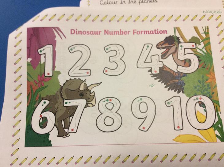 Amazing number Formation Naqeeb!