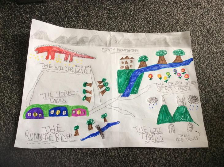 Laaibah's Hobbit Map (6J)