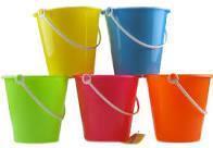 Seaside buckets
