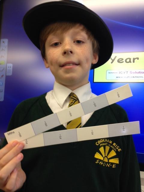 26.03.2015: making sense of fractions!