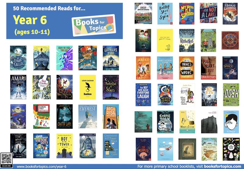 Book list for Year 6 children